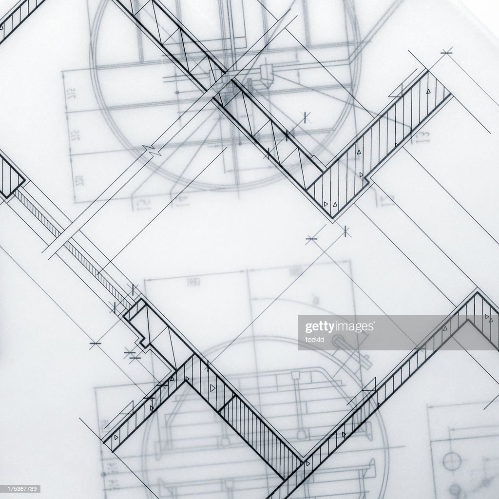 Industrial Blueprint Marco : Stock-Foto