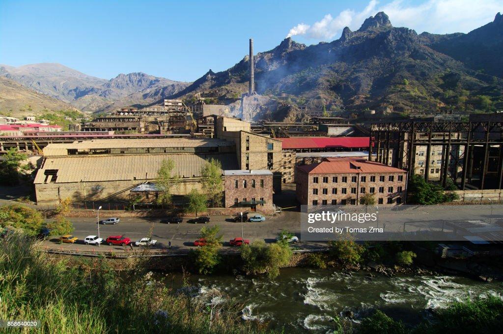 Industrial city of Alaverdi : Stock-Foto