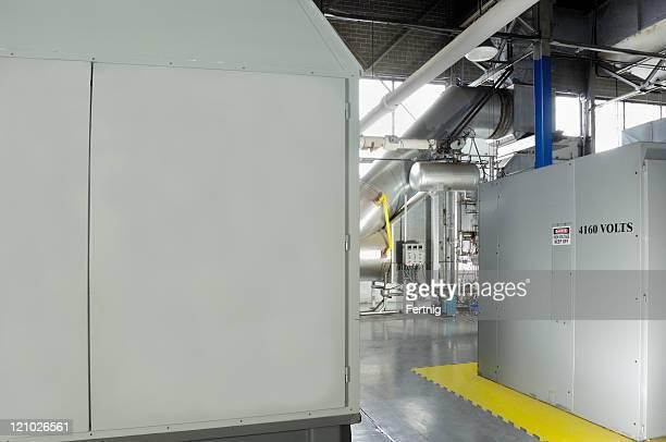 Industrial cogeneration Ausstattung Einrichtungen