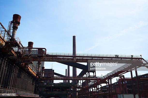 Industrial complex und heritage Koksofen Zollverein
