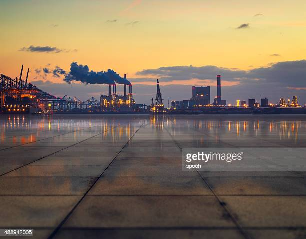 Industrial concretescape