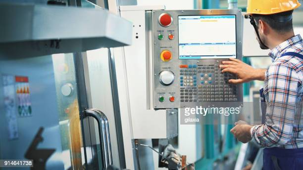 industrial control room. - control stock pictures, royalty-free photos & images