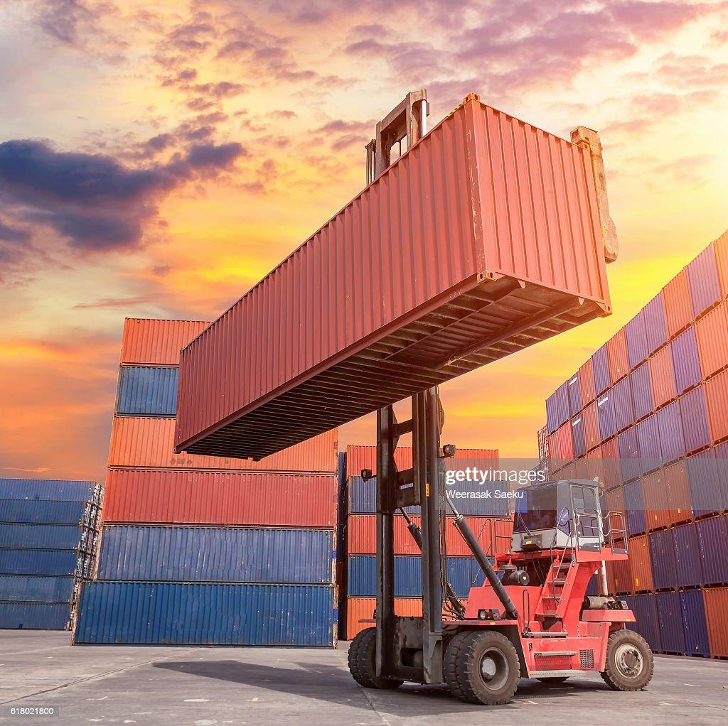 Industrial crane : Stock Photo