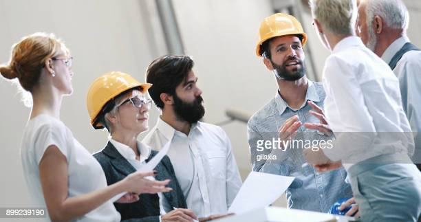 industrial design team in a meeting. - engineering stock pictures, royalty-free photos & images