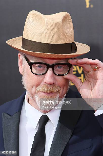 Industrial designer Adam Savage attends the 2016 Creative Arts Emmy Awards Day 2 at the Microsoft Theater on September 11 2016 in Los Angeles...