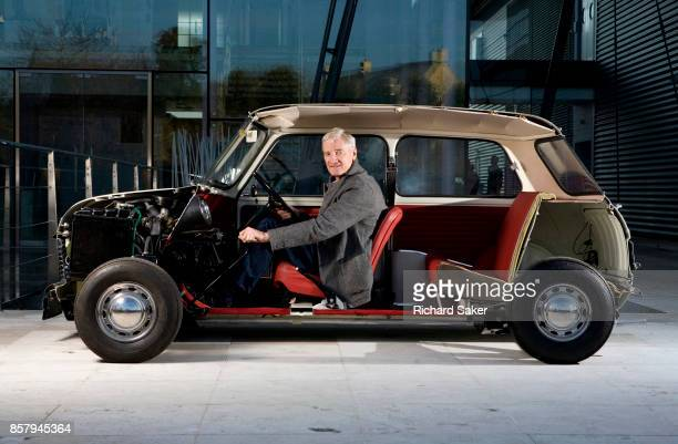 Industrial designer James Dyson is photographed for the Observer on March 1 2012 in Malmesbury England