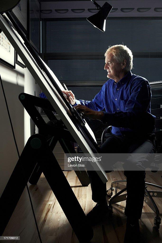 James Dyson, Wired magazine, December 1, 2012 : ニュース写真