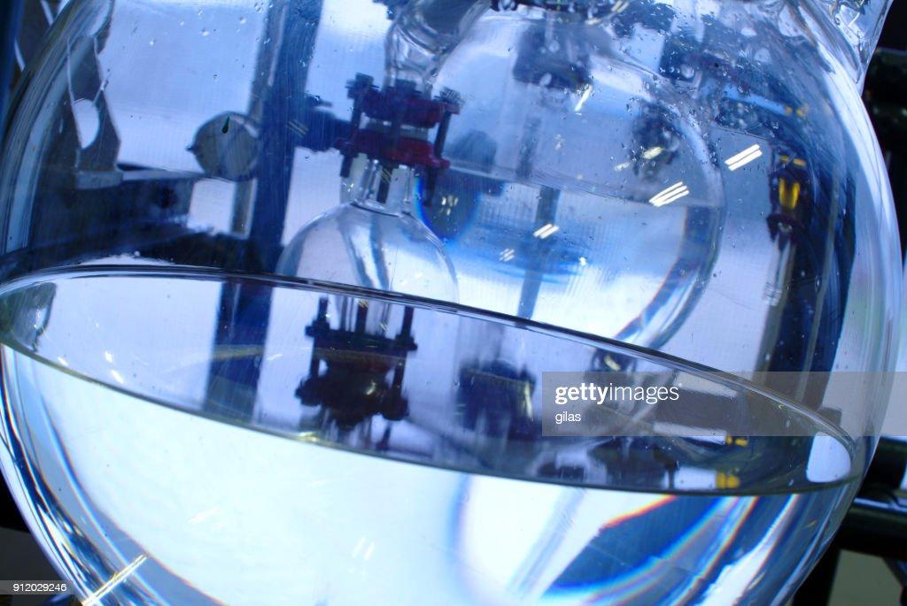industrial distillery equipment : Foto de stock