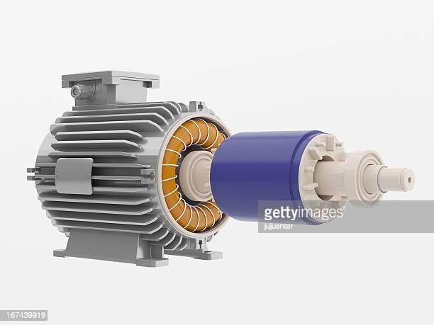 Industrial electric motor