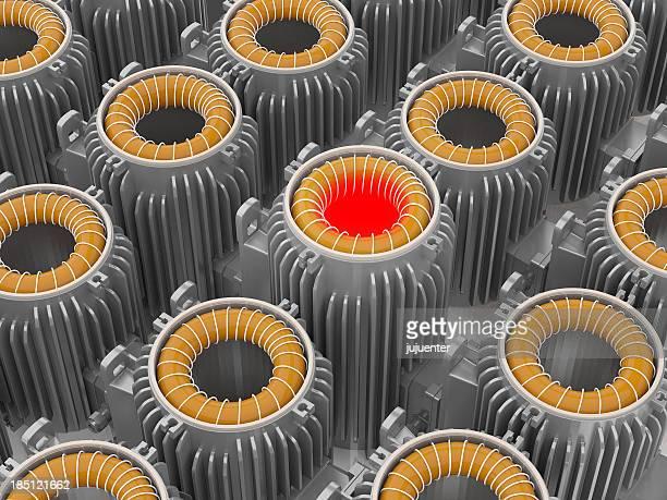 Industrial Elektromotor power