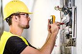 Industrial electric panel repair