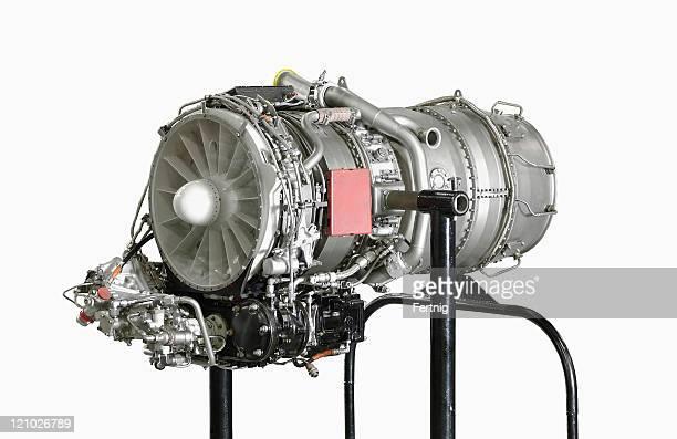 Industrielle gas--jet engine turbine