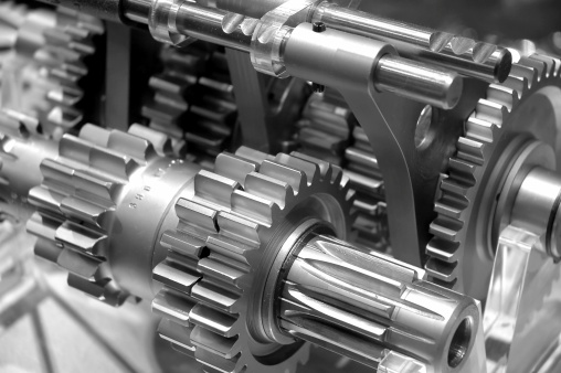 Industrial Gears Background 140380541