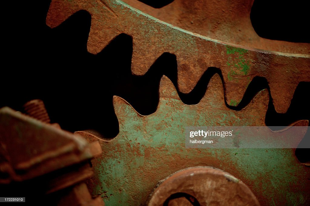 Industrial gears : Stock Photo