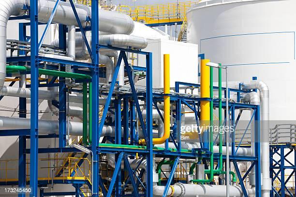 Der Industrie Einrichtungen