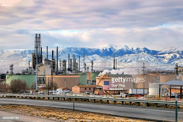Industrial landscape factories in Salt Lake CityUnited States