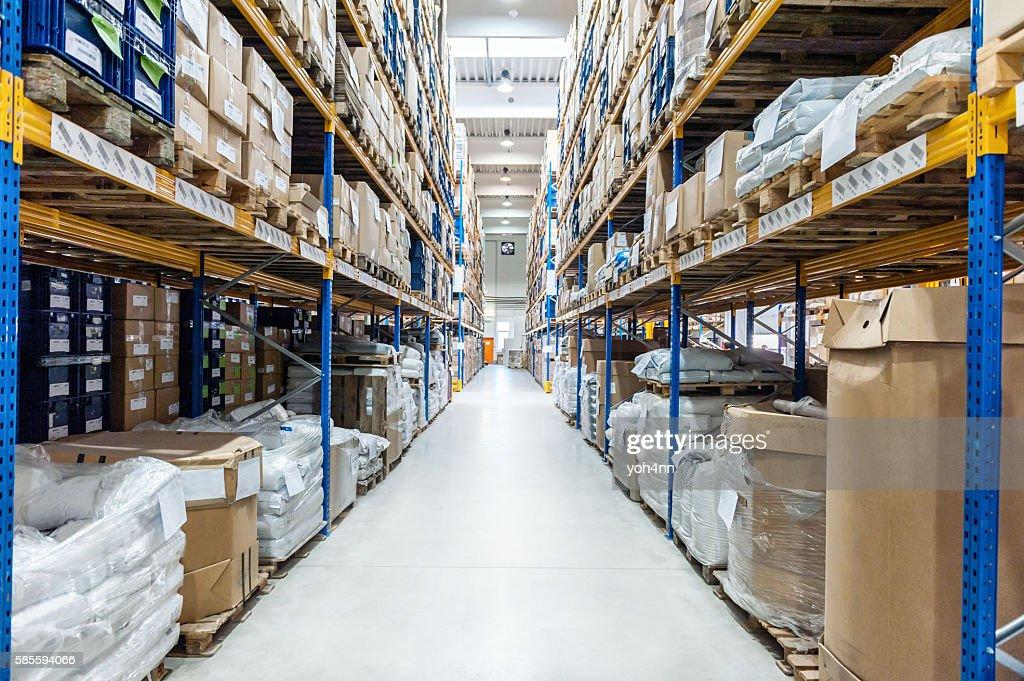 Industrial megastore : Foto de stock