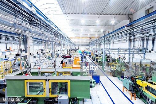 Usine industrielle & machines modernes