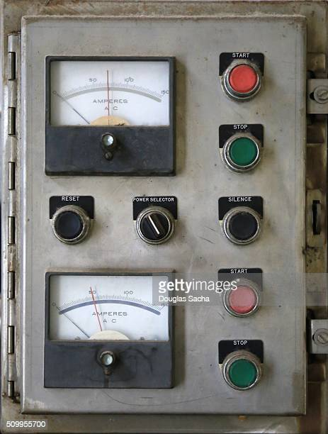 Industrial operating controls