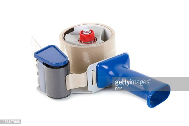 Industrial packing tape dispenser
