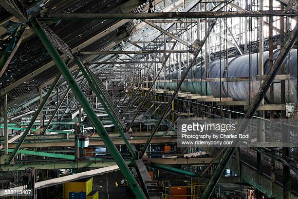 industrial pattern - rotten com stock pictures, royalty-free photos & images
