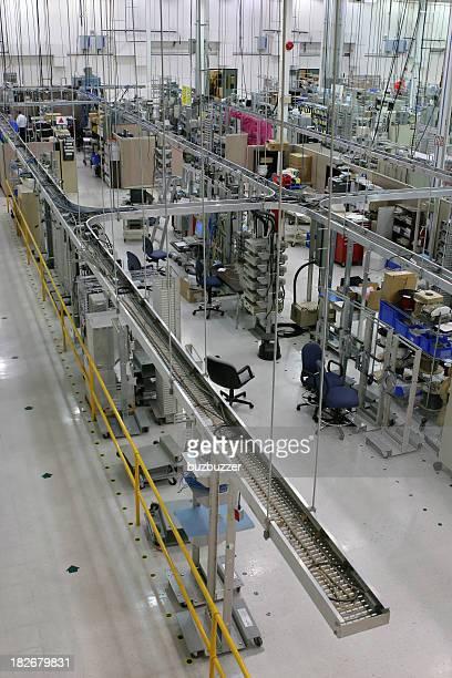 Industrial Production Floor