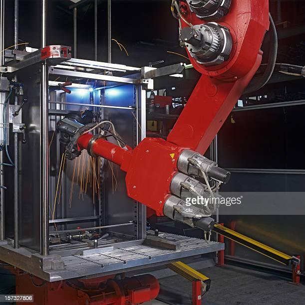産業用ロボットの作業