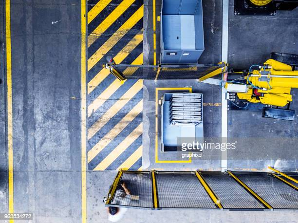 Industrial Robot View From Above