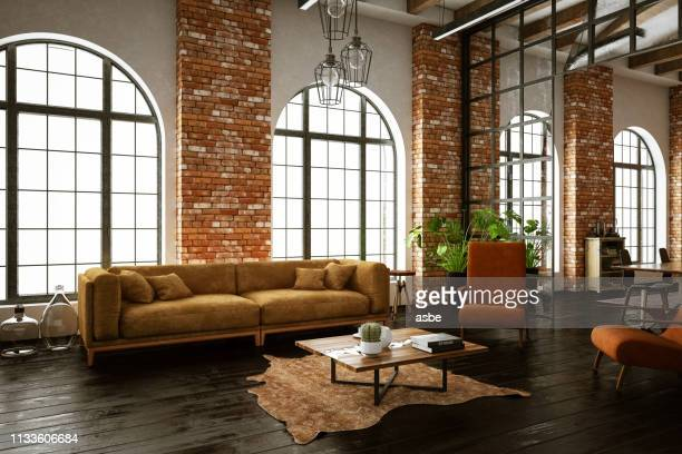 5 794 Industrial Living Room Photos And Premium High Res Pictures Getty Images