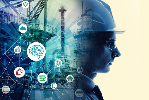 Industrial technology concept. INDUSTRY4.0 957654516