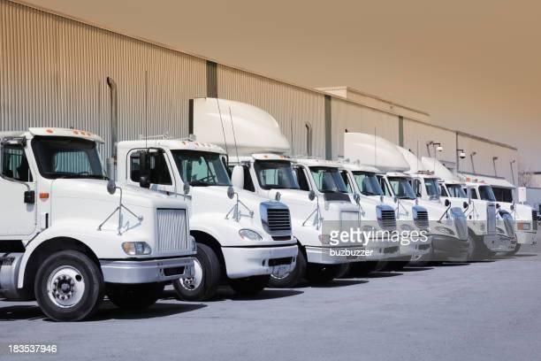 Industrial truck fleet