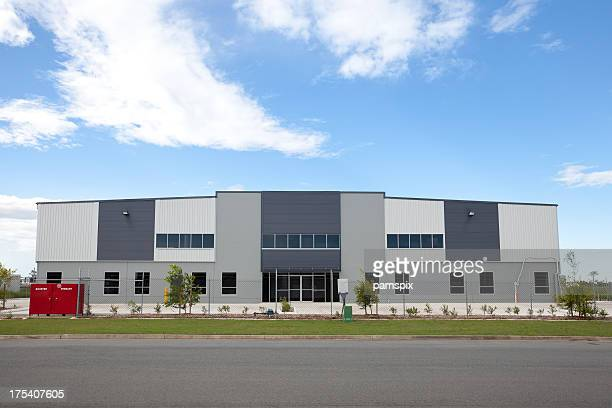 industrial warehouse building - grounds stock pictures, royalty-free photos & images