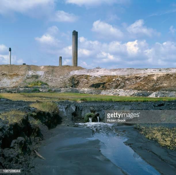 Industrial waste site