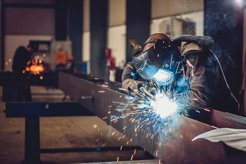 Industrial Welder With Torch 666132290