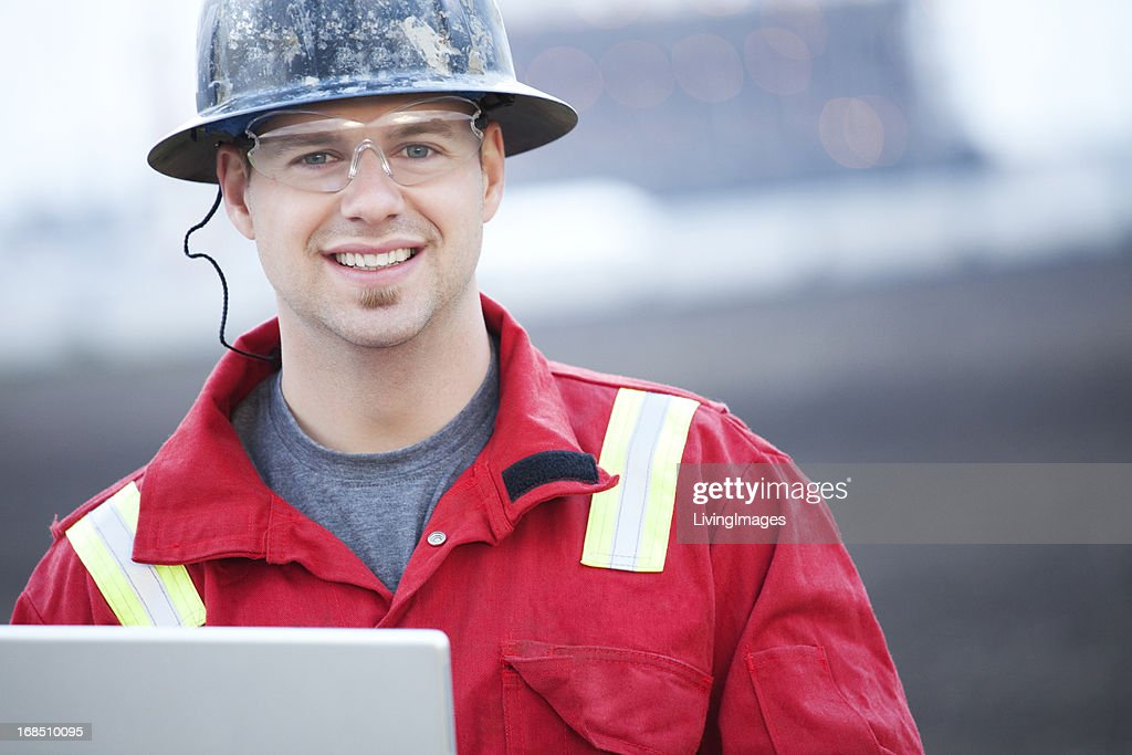 Industrial Worker : Stock Photo