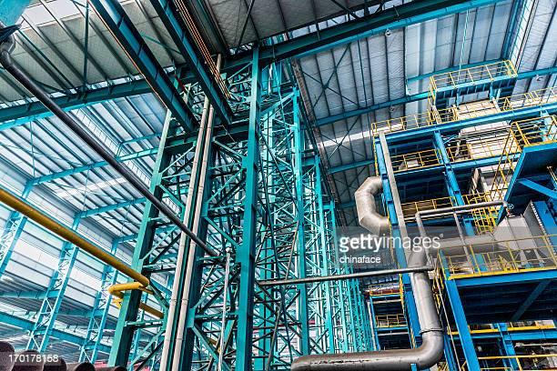 産業開発区、スチールパイプラインおよびケーブルの植物