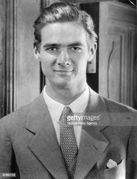 Industrialist and film producer Howard Hughes .