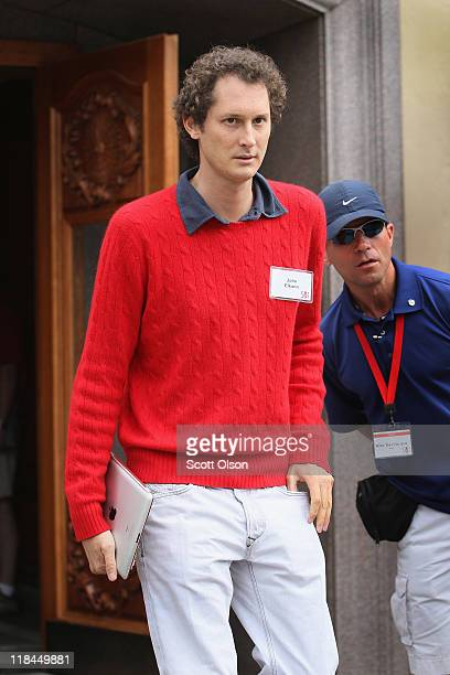 Industrialist John Elkann attends the Allen Company Sun Valley Conference on July 7 2011 in Sun Valley Idaho The conference has been hosted annually...