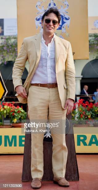 Industrialist Ness Wadia at the CN Wadia Gold Cup 2020 Race Day at the Royal Western India Turf Club on March 08, 2020 in Mumbai, India.