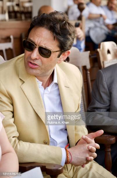 Industrialist Ness Wadia at the CN Wadia Gold Cup 2020 Race Day on March 08, 2020 in Mumbai, India.