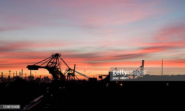 Industrie im Morgengrauen