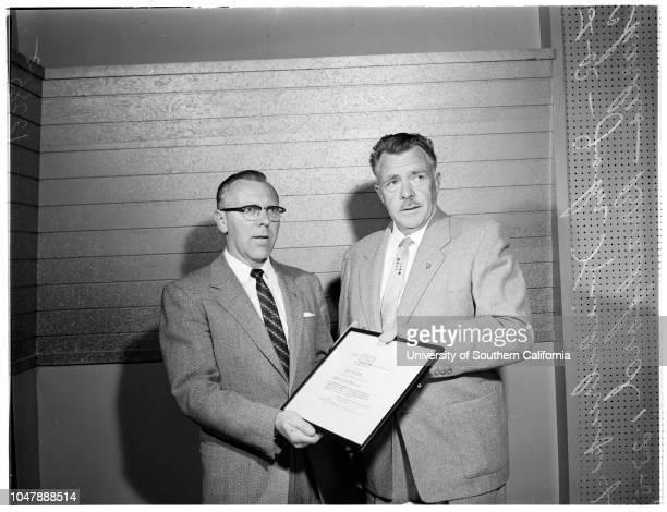 Industry Editor of the Year 23 January 1958 John Kieldrup Editor of the YearCharles Bradford
