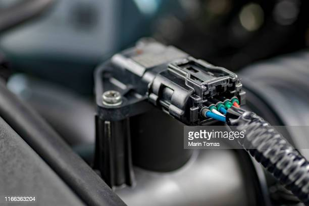 industry electronic connector - engine stock pictures, royalty-free photos & images