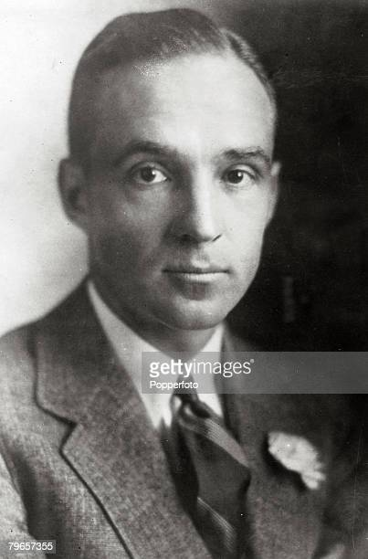 Industry, Personalities, pic: circa 1930's, Edsel Ford, the son of Henry Ford, Edsel Ford became President of the Ford Motor Company in 1919 until...