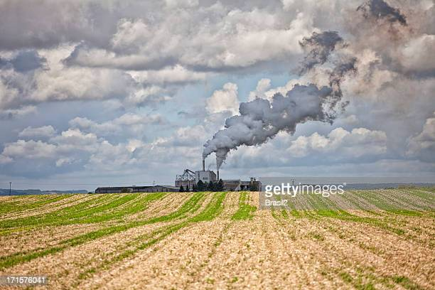 industry pollution - fumes stock pictures, royalty-free photos & images