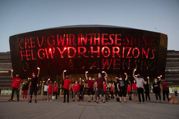 GBR: UK Arts Venues Go Red For Live Events Awareness Campaign