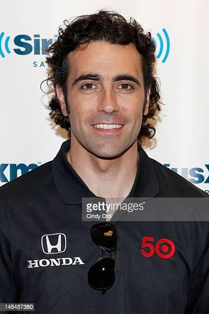 Indy 500 winner Dario Franchitti visits the SiriusXM Studio on May 30 2012 in New York City