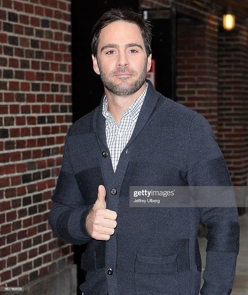 "Celebrities Visit ""Late Show With David Letterman"" - February 26, 2013"
