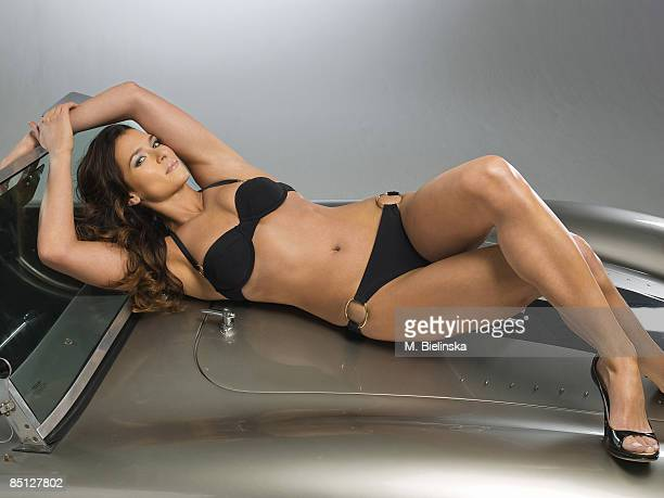 Indy race car driver Danica Patrick is photographed for Swimsuit Issue 2009 Swimsuit by Red Carter