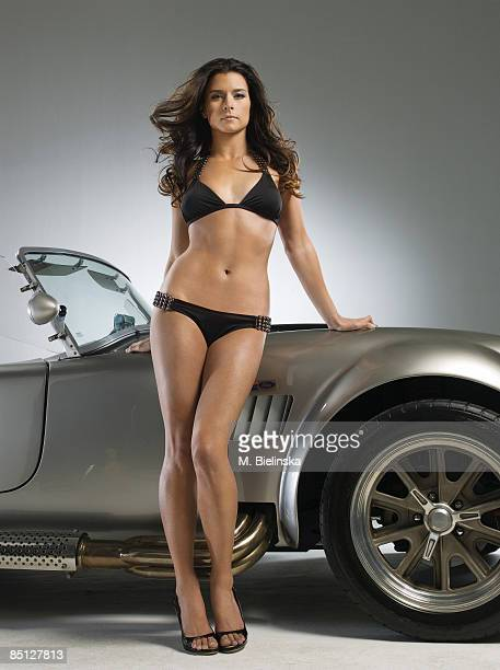 Indy race car driver Danica Patrick is photographed for Swimsuit Issue 2009 Swimsuit by Beach Bunny Swimwear